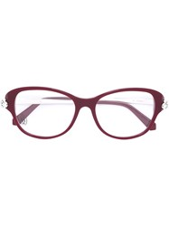 Cartier 'Panthere' Glasses Red