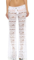 Pilyq Malibu Lace Pants White