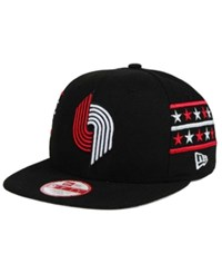 New Era Portland Trail Blazers Fine Side 9Fifty Snapback Cap