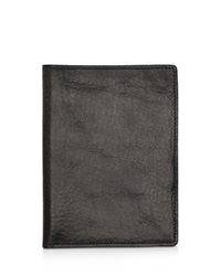 Shinola Passport Wallet Black