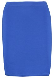 Zalando Essentials Mini Skirt Royal Blue