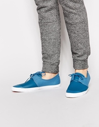 Fish 'N' Chips By Base London Fish And Chips By Base London Pedalo Plimsolls Blue