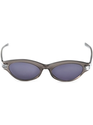 Thierry Mugler Vintage 'Cat Eye' Sunglasses Grey