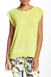 Central Park West French Terry Tee Yellow