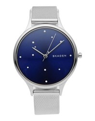 Skagen Denmark Timepieces Wrist Watches Women Blue