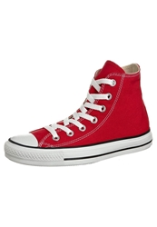Converse Chuck Taylor All Star Hi Core Canvas Hightop Trainers Red