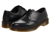 Dr. Martens 1461 Vegan 3 Eye Gibson Black Lace Up Casual Shoes