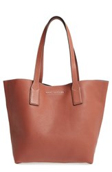 Marc Jacobs 'Wingman' Leather Shopping Tote Brown Cognac Multi