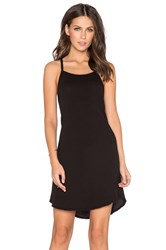 Ever Randi Square Neck Tank Dress Black