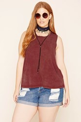 Forever 21 Plus Size Cutout Tank