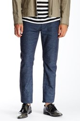 John Varvatos Herringbone Slim Fit Jean Blue