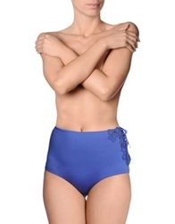 Ermanno Scervino Beachwear Brief Trunks Blue
