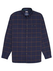 Joules Buchanan Windowpane Check Shirt Navy