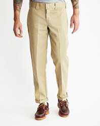 Dickies Slim Straight Work Pant Tan