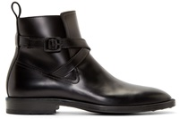 Kenzo Black Leather Gorillaz Boots