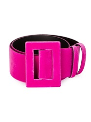 Toga Velvet Belt Pink And Purple