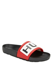 Hunter Slide Sandals Black