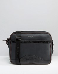 Ted Baker Bag Messenger Embossed Black