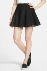 Soprano Mesh Skirt Juniors Black