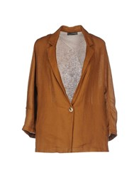 Soallure Suits And Jackets Blazers Women Brown