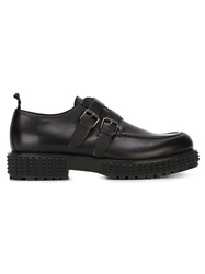 Valentino Garavani Studded Sole Monk Shoes Black