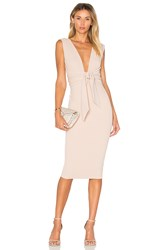 Nookie Royal Midi Dress Beige