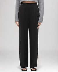 Whistles Trousers Nao Wide Leg Black