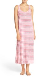Women's Lauren Ralph Lauren Stripe Cotton Nightgown