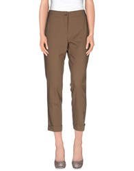 Etro Trousers Casual Trousers Women Khaki