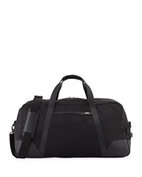 Cole Haan Large Nylon Duffle Bag Black