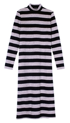 Tibi Cozy Stripe Knit Dress