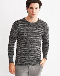 Only And Sons Mens Knitted Crew Neck Jumper Black