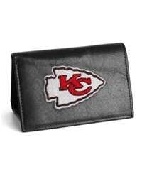 Rico Industries Kansas City Chiefs Trifold Wallet Black