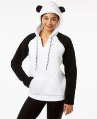 By Jennifer Moore Hooded Animal Pajama Top Only At Macy's Panda