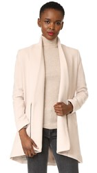 Michelle Mason Zipper Coat Oyster