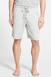 Daniel Buchler Pima Cotton And Modal Lounge Shorts Gray