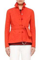 Women's Akris Punto Short Trench Coat