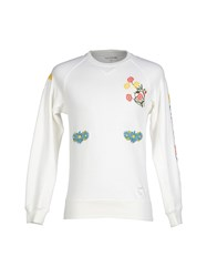 The Editor Topwear Sweatshirts Men White