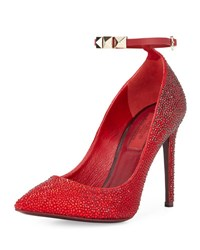 Valentino Beaded Leather Pump R66