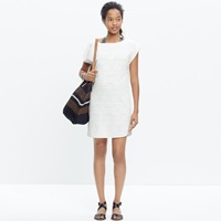 Madewell Embroidered Cannes Cover Up Tunic Top