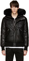 Mackage Ssense Exclusive Black Down Glen Jacket