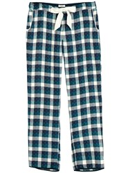Fat Face Ditteridge Quilted Check Pyjama Bottoms Dragonfly