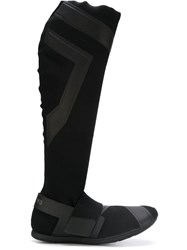 Y 3 Mid Calf Sock Boots Black