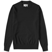 Maison Martin Margiela Maison Margiela 14 Elbow Patch Crew Knit Black