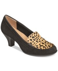Aerosoles Wise Choice Pumps Women's Shoes Cheetah Combo