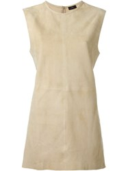 Joseph Suede Tank Top Nude And Neutrals