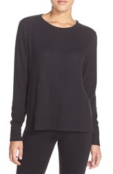 Alo Yoga Women's Alo 'Glimpse' Long Sleeve Top Black