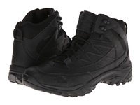 The North Face Storm Mid Wp Leather Tnf Black Tnf Black Men's Hiking Boots