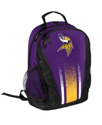 Forever Collectibles Minnesota Vikings Prime Time Backpack Purple