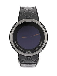 Gucci Grammy Museum Limited Edition Pvd Stainless Steel And Leather Digital Strap Watch No Color